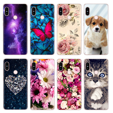 Phone-Cases Xiaomi Redmi Note5 Back-Cover Transparent Silicon for Slim Clear Soft TPU