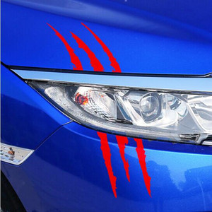 Image 5 - Hot Car Monster Claw Scratch Decal Stickers Car Styling For Ford Focus Kuga Fiesta Ecosport Mondeo Escape Explorer Edge Mustang