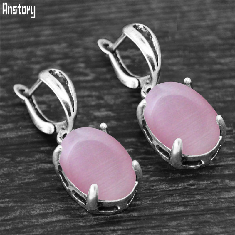 Synthetic pink opal