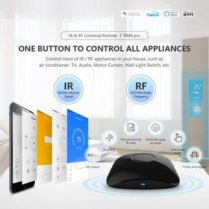 Image 2 - الإصدار الجديد لعام 2020 من برودلينك RM4 برو RM برو + أتمتة المنزل الذكي العالمي الذكي واي فاي + IR + RF مفتاح تحكم عن بعد