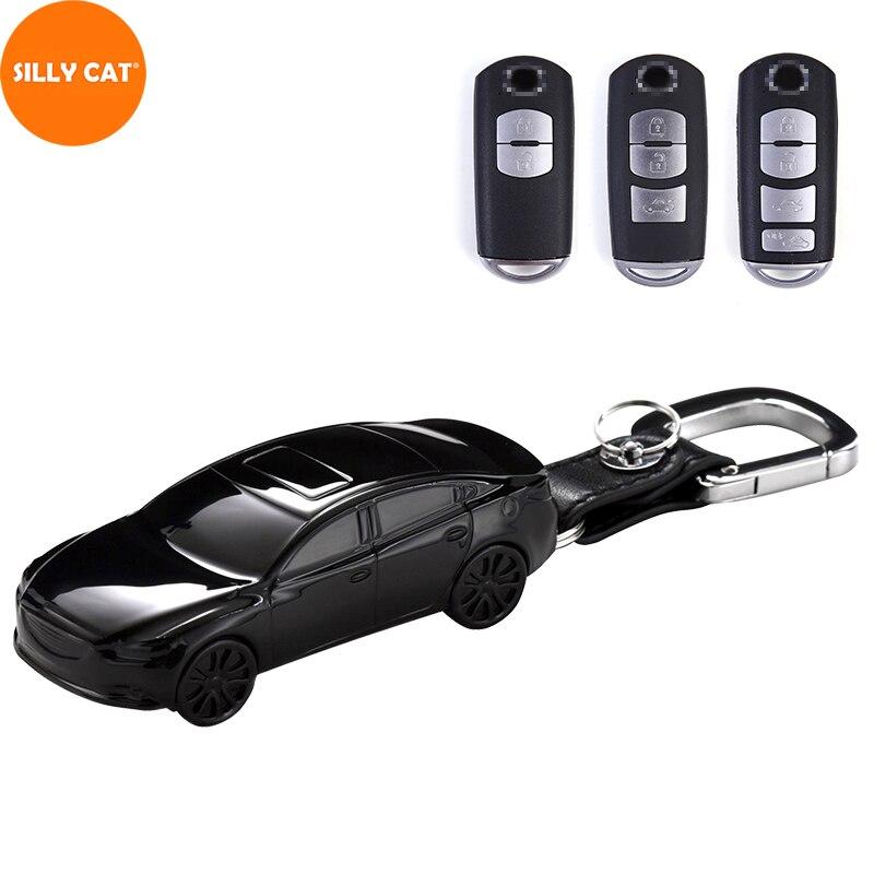 Cover Car-Key-Case Model-Shape GH MX-5 CX-5 Targa Cx-8-Kg CX-3 Mazda 3 Suitable-For IV