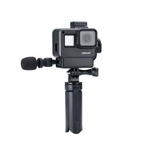Image 3 - מקורי 3.5MM GoPro מיקרופון מתאם עבור GoPro גיבור 9 8 גיבור 7 גיבור 6 גיבור 5 שחור/HERO5 מושב מיקרופון מתאם כבל AAMIC 001