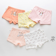 5 Pcs/lot Cartoon Girls Underwear Underpants Briefs Children Kids Pants Cotton Girl Panties For Boys Child Boxer Baby Boy Panty baby boys girls cloth diapers summer baby girls boy cotton bread pants bloomers briefs shorts panties underwear