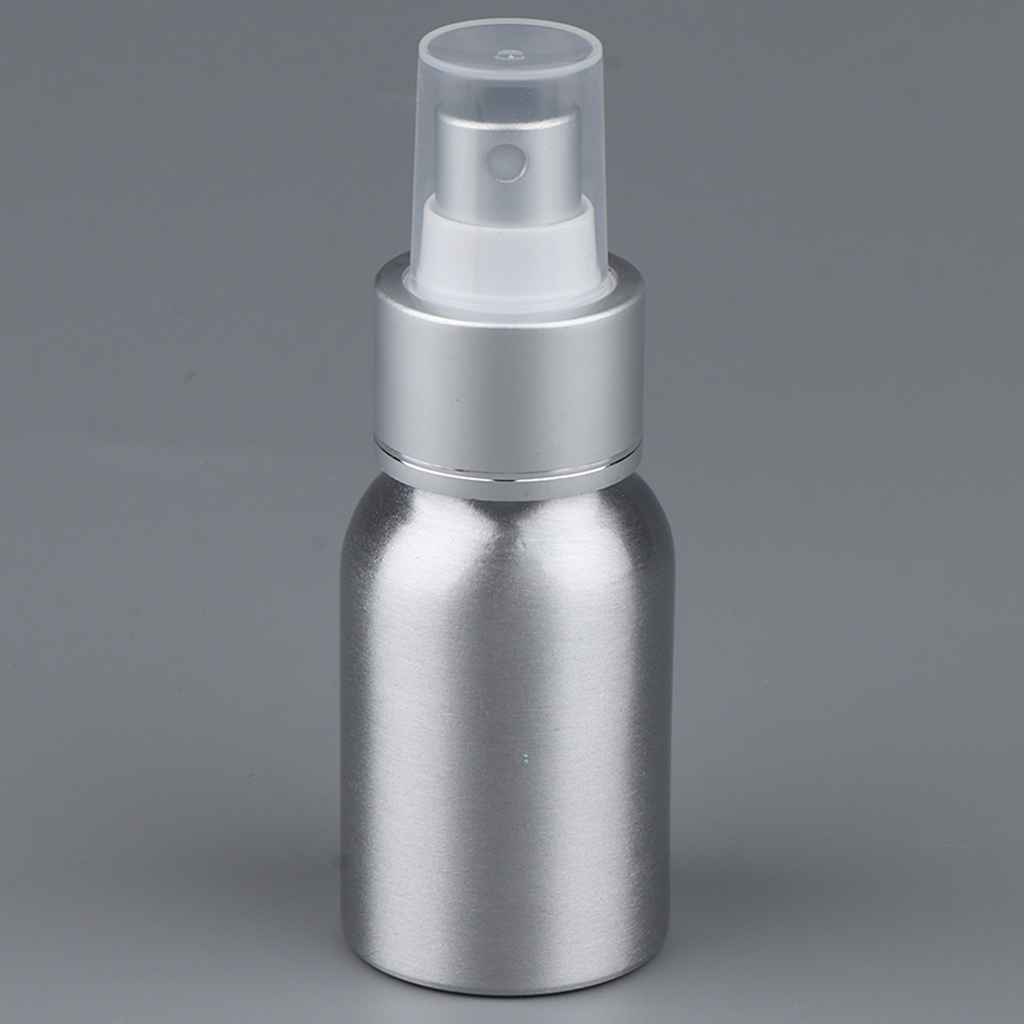 30~<font><b>120mL</b></font> Travel Portable Empty Replacement <font><b>Spray</b></font> <font><b>Bottle</b></font> for Cologne/Perfume/Splash/Aftershave with Clear Caps, Refillable image