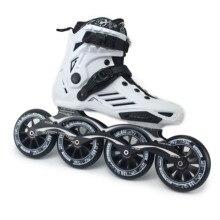 Patins roller inline profissionais, meia bota de patins inline com rodas de 4*110/100mm tamanho 35 a 46 rollerblade sh62 patins gratuitos