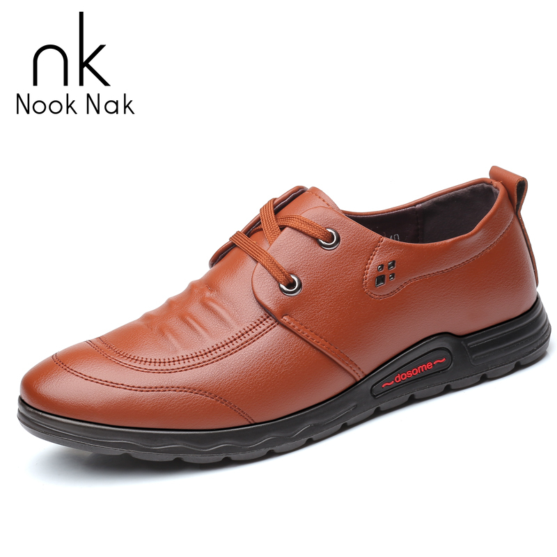 Fashion Men Cow Leather Shoes Dress Shoes Lace Up Business Casual Genuine Leather Shoes Flats Male Sneaker Zapatos De Hombre in Men 39 s Casual Shoes from Shoes