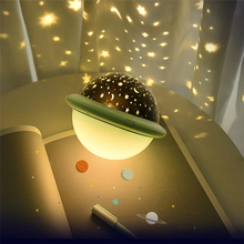 Novelty Night Light LED Star Projector Astro Sky Projection NightLights Lamp Battery USB Cable Bedroom for Children Party