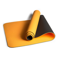 72x24IN Non slip Yoga Mats For Fitness Tasteless Brand Pilates Mat 7Color Gym Exercise Sport Mats Pads with Yoga Bag Yoga Strap