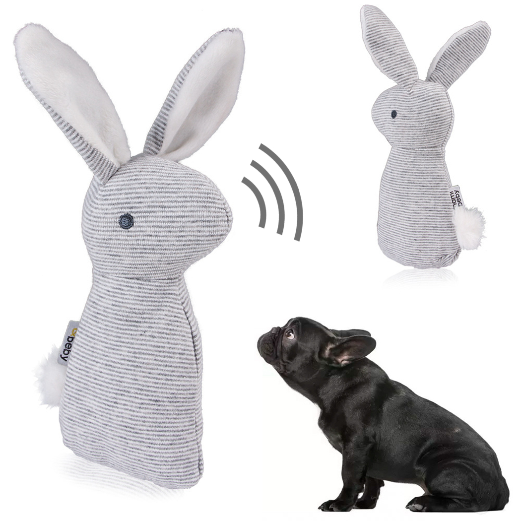 2019 New Pet Squeaky Funny Dogs Animal Shape Toys Gift Set Large Rabbit Honking for Dogs Chew Bite Squeaker Dog Toys
