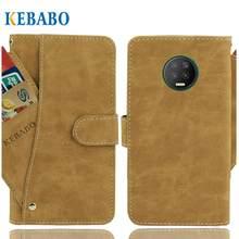 Винтажный кожаный бумажник Infinix Note 7 Чехол 6,95
