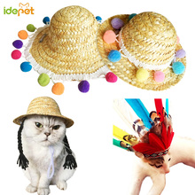 Halloween Pet Dog Hat Cap Fashion Hat For Dogs Cats Casual Winter Canvas Cap For Dog