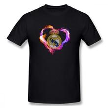 2019 funny tee Real Madrid Live t shirts men short sleeves cotton tops cool shirt summer Mens  Short Sleeve T-Shirt