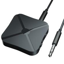 Bluetooth 4,2 приемник и передатчик Bluetooth беспроводной адаптер аудио с 3,5 мм AUX аудио для домашнего ТВ MP3 ПК