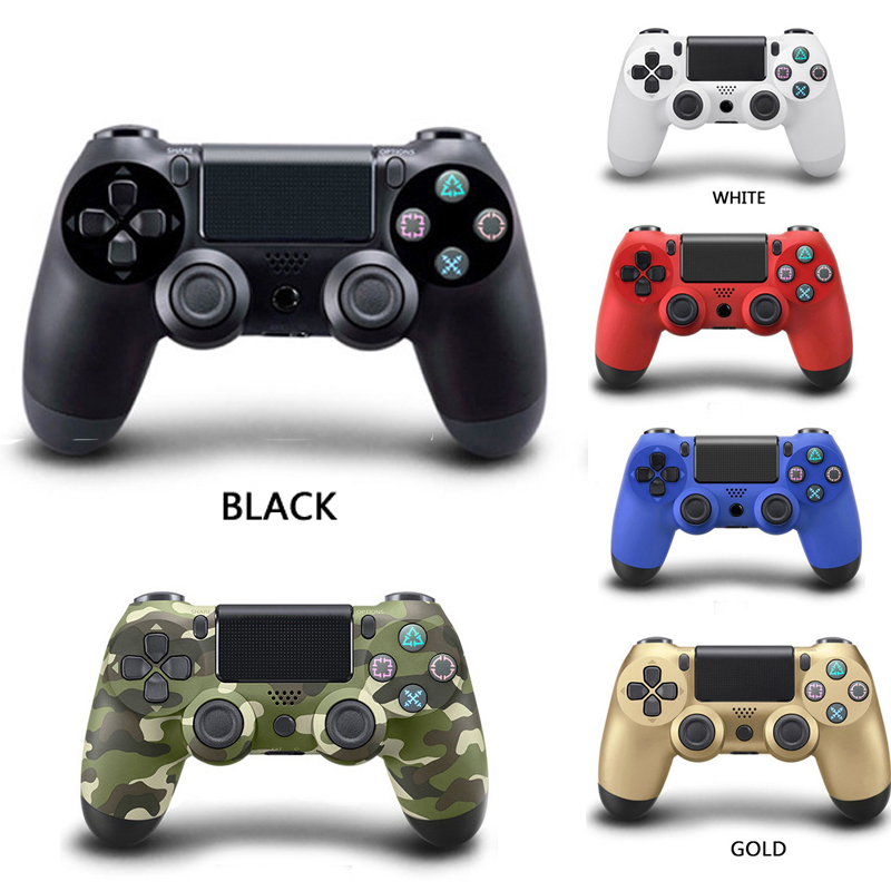 Wired/<font><b>Wireless</b></font> Bluetooth <font><b>Controller</b></font> For PS4 Gamepad For Play Station 4 Joystick For Sony Playstation 4 <font><b>PC</b></font> For Dualshock Controle image