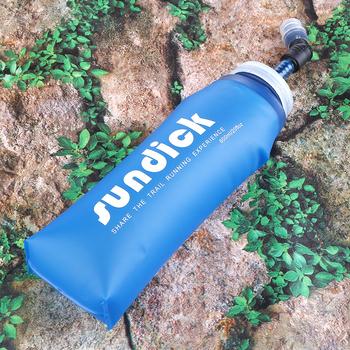 Portable Running Hydration Water Pack 600ml lekki Outdoor Sports Soft Flask Bottle torby na wodę czajnik przeciwwybuchowy tanie i dobre opinie MOJOYCE 501 ml-600 ml CN (pochodzenie) Collapsible Hydration Water Bag