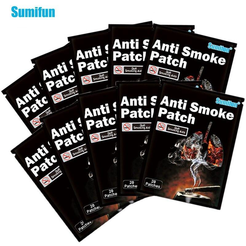 60 шт./Лот, пластырь против курения, 100% натуральный ингредиент
