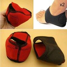 1 пара подошвенного фасциита лечение Lap Kit мячик для массажа стоп поддержка свода стопы силиконовый пяточный рукав