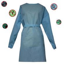 Jednorazowa odzież robocza kombinezon odzież ochronna Anti-zanieczyszczeń dla Spary malarstwo kombinezon niebieski bezpieczne odzież 1 sztuk tanie tanio Włókniny tkaniny