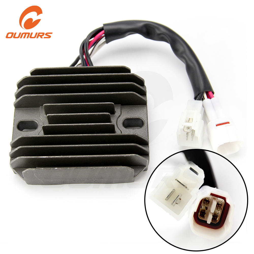 OUMURS Motorcycle Voltage Regulator Rectifier For Suzuki GSXR600 GSX750 2006-2013 GSX650F 2008-2012 GSXR1000 2005-2012 SFV650