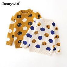 Josaywin/Детский свитер для девочек; Зимняя одежда; Вязаный
