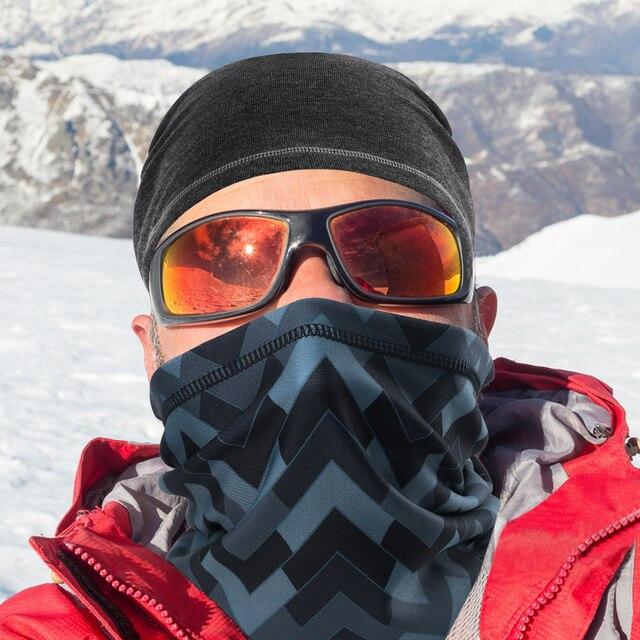 Winter warmer face fleece shield b