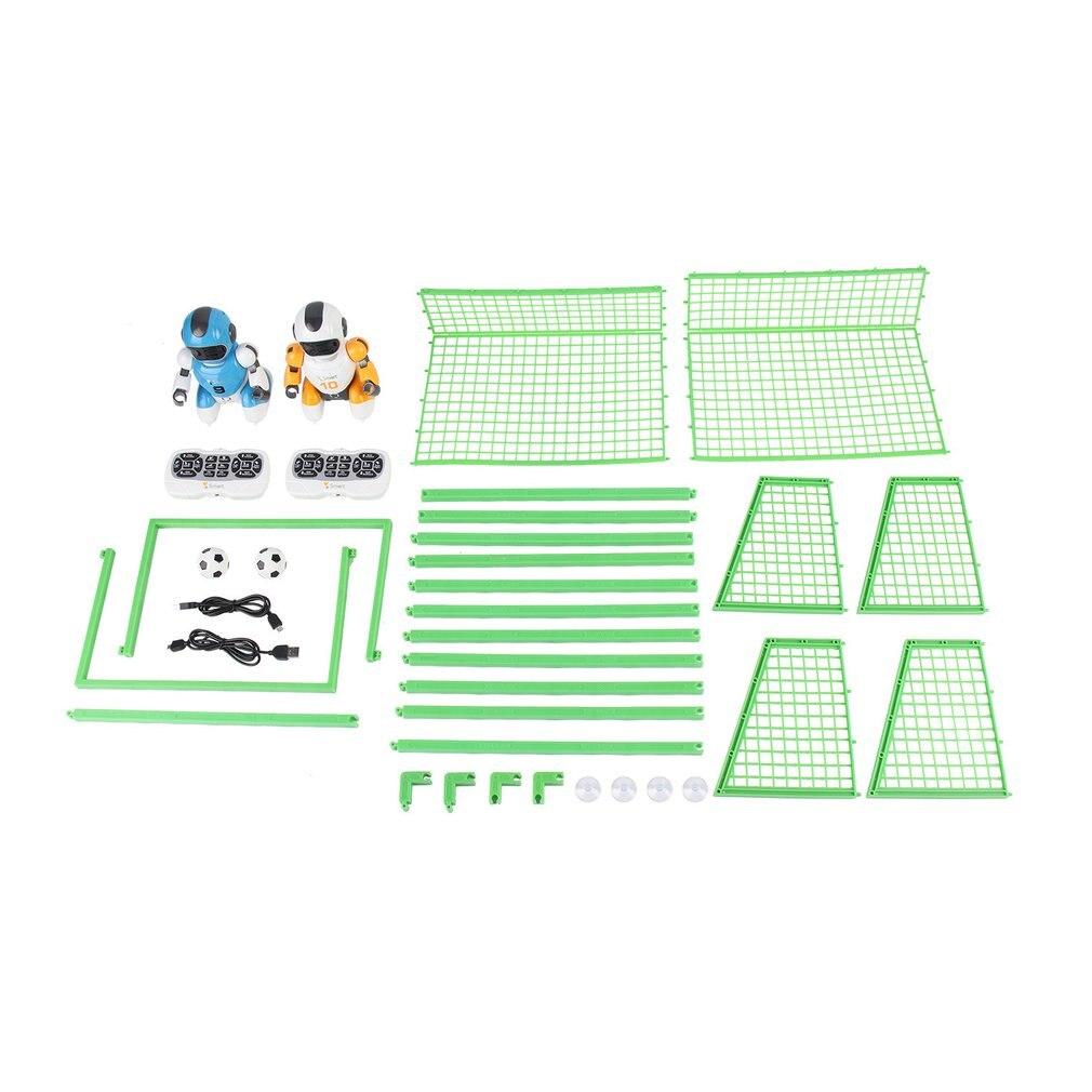 Kawaii dessin animé intelligent jouer au Football Robot télécommande jouets électrique chantant danse Football Robot pour enfants enfants jouets