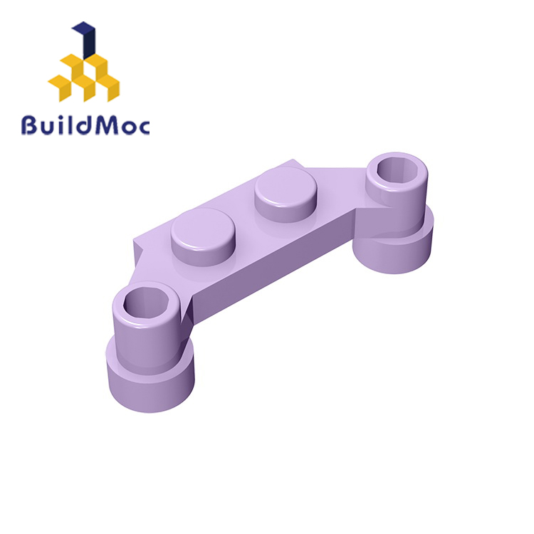 BuildMOC 18624 Plate Modified 1 X 4 Offset For Building Blocks Parts DIY Educational Creative Gift Toys