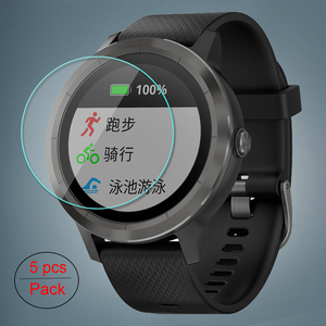 Image 1 - 5 Pcs/Lot For Garmin Vivoactive3 Tempered Glass 9H 2.5D Premium Screen Protector Film For Garmin Vivoactive 3 Smart Watch
