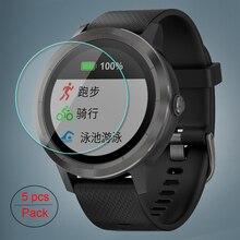 5 sztuk/partia dla Garmin Vivoactive3 szkło hartowane 9H 2.5D Premium Screen Protector Film dla Garmin Vivoactive 3 inteligentny zegarek