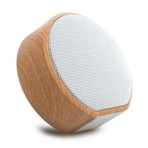 Image 1 - Hạt Gỗ Bluetooth Hỗ Trợ Thẻ TF Mini Di Động Loa Siêu Trầm Loa Không Dây Hỗ Trợ Âm Thanh Aux Trong Tay Và Bàn Tay Gọi Miễn Phí