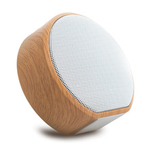 Holzmaserung Bluetooth Lautsprecher Unterstützung TF Karte Tragbare Mini Subwoofer Drahtlose Lautsprecher Unterstützung Aux Audio In und Hände Geben Anruf