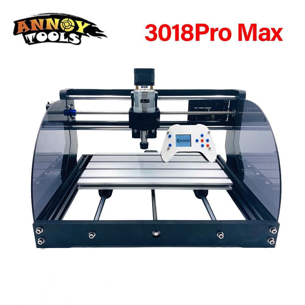 CNC 3018pro Max 500MW 2500MW 5500MW 15W Laser Engraver CNC Router Machine GRBL1.1 ER11 DIY 15000mW Laser Engraving Machine