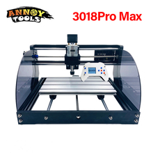 CNC 3018pro Max Laser Engraver Wood CNC Router Machine GRBL ER11 DIY Engraving Machine for Wood PCB PVC Mini CNC3018 Engraver