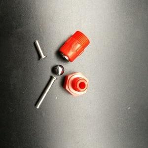 Image 4 - Bộ 100 Đỏ Núm Vú Gà Waterer Gia Cầm Ăn Gà Uống Chim Bồ Câu Ăn Mông Bóng Đỏ Núm Vú Người Uống Cho Gà