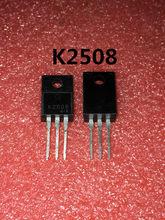 5 PÇS/LOTE 2SK2508 TO220F NPN transistor canal K2508 TO-220F novo original Em Estoque