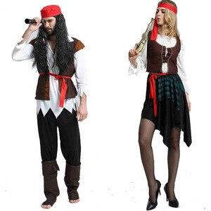 Image 2 - 2019 motyw świąteczny urodziny kostiumy dla dzieci chłopcy kostium pirata zestaw na Cosplay dla dzieci Halloween boże narodzenie dla dzieci dzieci