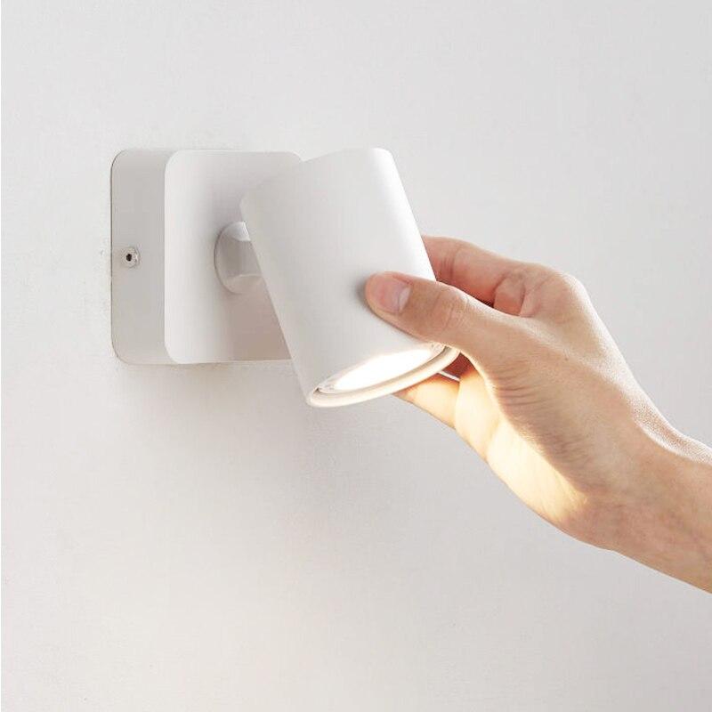 Novas lâmpadas de parede led 90 ° dobrável rotação 350 ° 6 w luzes macias fazer um bom ambiente de leitura para você adequado para várias cenas