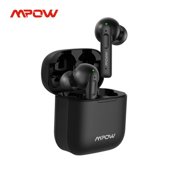 Mpow X3 Bluetooth 5.0 True Wireless Earbuds Active Noise Cancelling Earphones 27h Playback In-ear Headset With Mic For iPhone SE