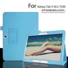 Smart Auto Sleep/Wake cover case For Samsung Galaxy Tab 4 10.1 T530 T531 T535 Tablet PU Leather Cover For Tab 4 SM T530 Sm T531