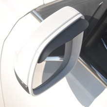 1 Pair Car Rearview Mirror Rain Eyebrow Auto Car Rear View Side Rain Shield Snow Guard Sun Visor Shade Protector