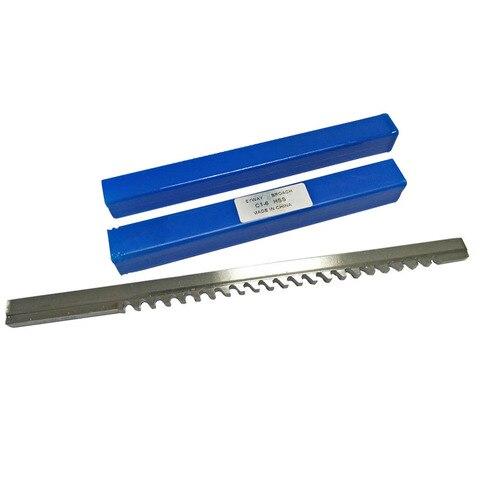 Ferramenta de Corte para Cnc Push-tipo Keyway Broach Tamanho Métrico Metalurgia – 6 Atacado Hss 6mm c1