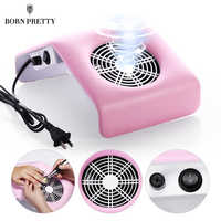 40/30W Nail Dust Collector with Fan Pink White Nail Suction Dust Collector Electric Nail Drill Machine Cleaning Nail Art Tools