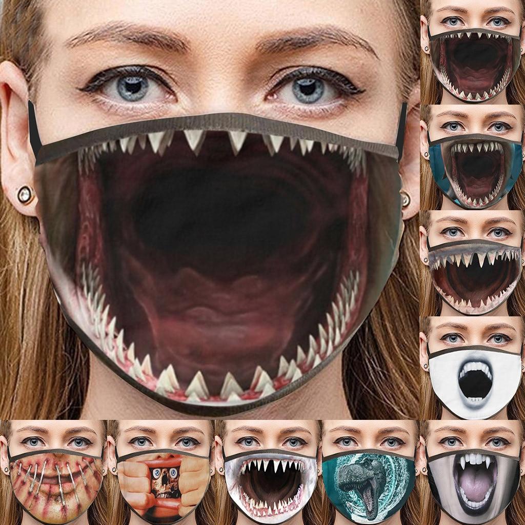 adulte-masque-facial-sable-echappement-creme-solaire-drole-coton-bouche-maskrespirant-cyclisme-masque-lavable-visage-bouclier-halloween-visage-couverture