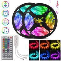 5050 LED Streifen Musik Sync TV Hintergrund Beleuchtung Bluetooth 12V Led-leuchten Schlafzimmer Dekoration Smartphone APP Control Streifen Licht