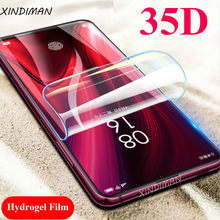 XINDIMAN 35D New hydrogel film for xiaomi redmi K20 Front+Back soft screen protector K20pro protective-Film