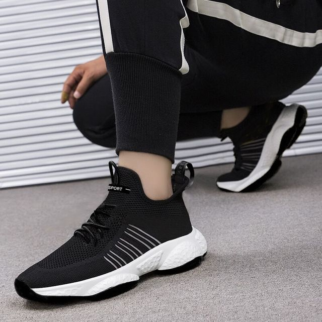 Breathable Comfortable Lace-Up Baskets Sneakers 6