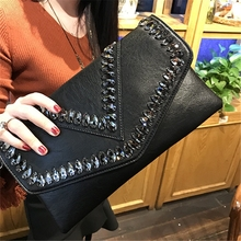 купить Luxury Handbags Ladies Bag Designer High-end Diamond Ring Shoulder Bag Diagonal Shoulder Bag Chain Bag PVC Evening Bag Handbag по цене 1407.74 рублей