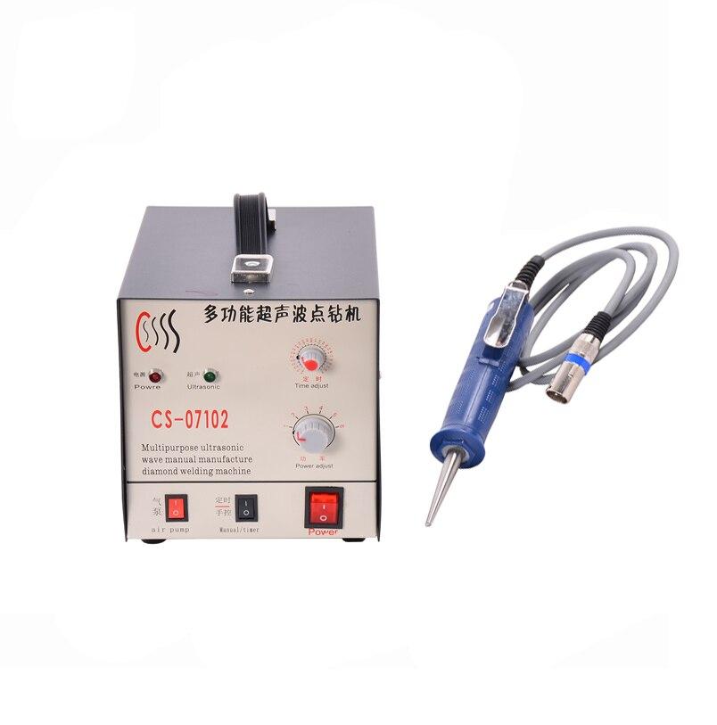 Hand Held Ultrasonic Spot Welding Machine Suitable for Riveting/Welding/Dots/Folder Location 5