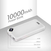 Leise Power Bank 10000mAh Portable Charging PowerBank 10000