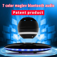 Commercial gifts wireless bluetooth magnetic levitation bluetooth speaker 4.0 subwoofer mobile phone PC universal
